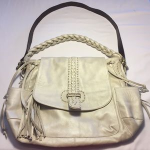 Carla Mancini Leather Handbag
